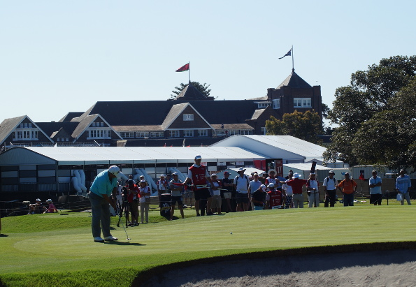 Two veterans of the golfing world, 50 year old Peter O'Malley and the soon to be renovated Royal Sydney clubhouse