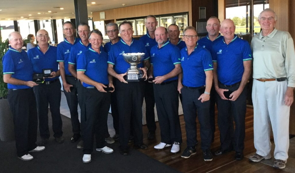 Aussie senior golfers finally beat Kiwis after five straight losses in annual Sanctuary Cove Trophy grudge match