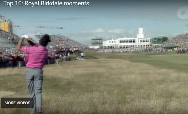 royal birkdale top 10 moments video