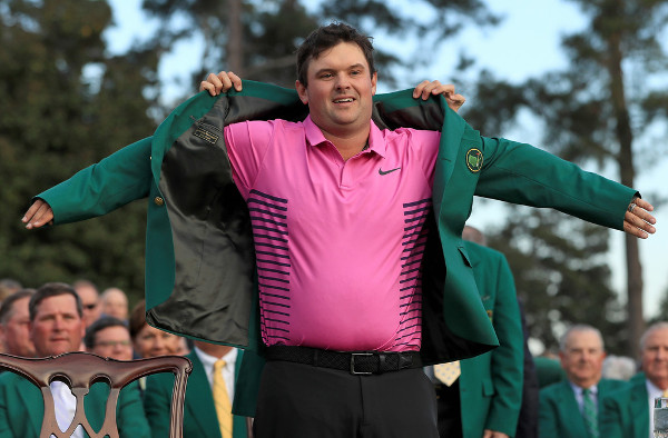 Patrick Reed in the pink with 2018 US Masters win