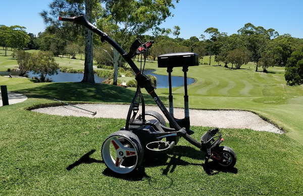 Motocaddy electric golf buggy review 2018