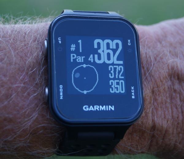 Garmin Approach S20 GPS golf watch: Review