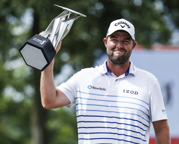 Marc Leishman back for 2018 Aussie summer of golf with his 4th US tour trophy