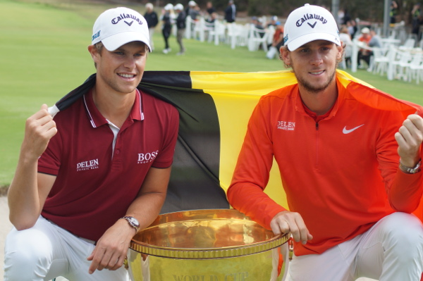 Aussie #WorldCupofGolf final round charge falls short as the sun shines on Belgium