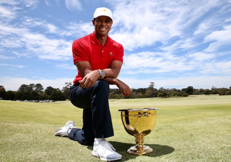 2019 Presidents Cup: Tiger and Ernie prepare for battle at Royal Melbourne