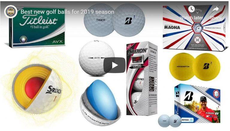 Best new golf balls 2019