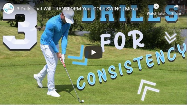 3 Simple drills that will magically transform your golf swing: Possibly!