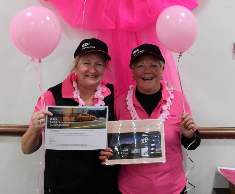Leonay Golf Club turns pink for breast cancer research