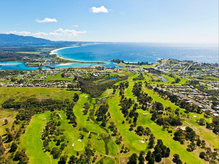 Larry Canning: PGA Legends take on beautiful Bermagui