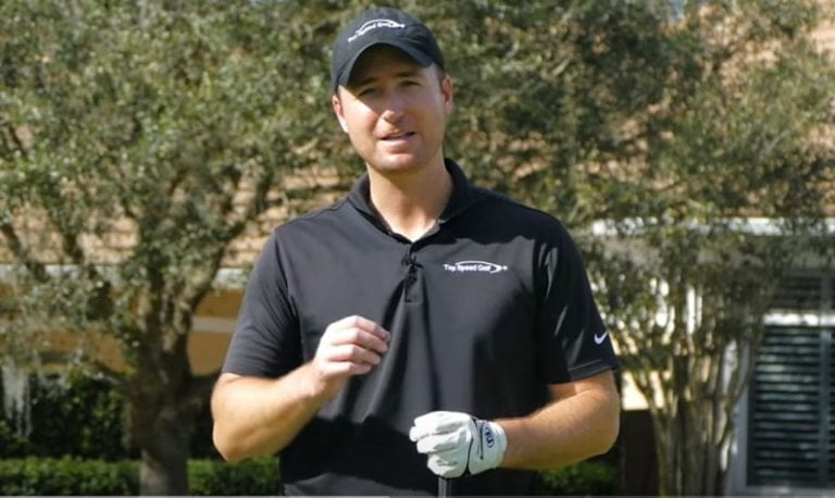 "A golf swing tips video for all us senior golfers ""who look like Adam Scott"""