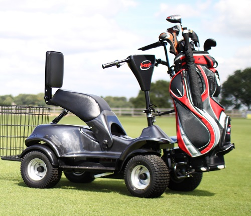 Single-seater ride on golf buggies all the rage in Covid times