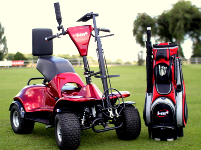 IM4 Single Seat Golf Buggy: a top choice for older golfers