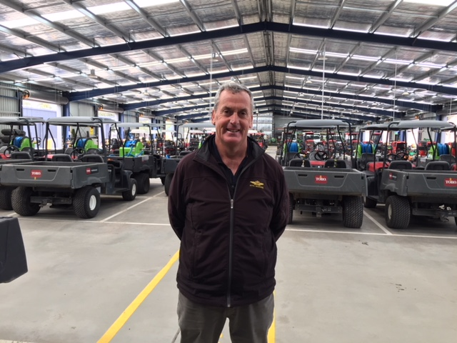 A green thumbs up for Royal Melbourne course director ahead of the 2019 Presidents Cup