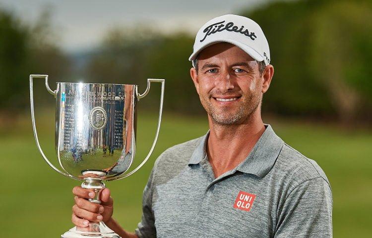 A festive Adam Scott ends long winless drought with second Australian PGA title
