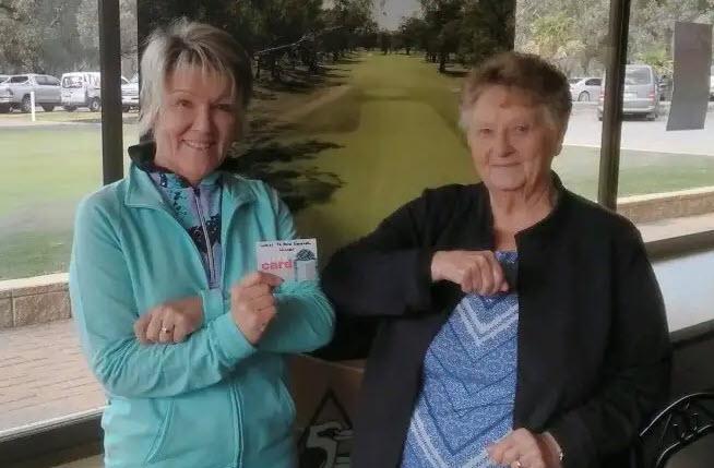 Jane Wall golf