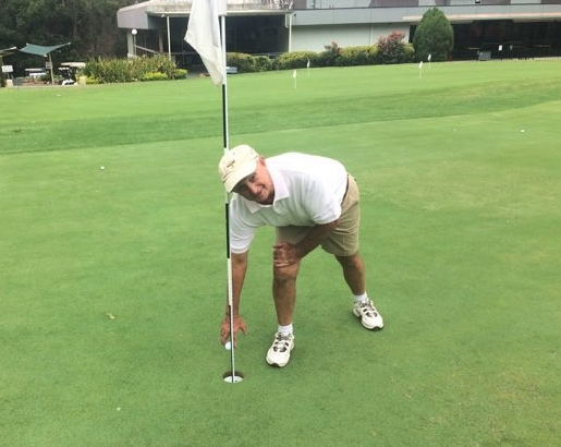 """""""Just one of those days"""" for 74 year old John Wilkinson as he beats his age – and the field – in Western Sydney golfing blitz"""