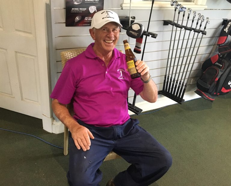 """John """"Butch"""" Cassidy: Golf club """"Volunteer of the Month"""""""